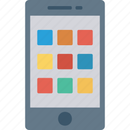 apps, mobile, phone, tablet icon