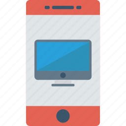 devices, mobile, phone, responsive icon