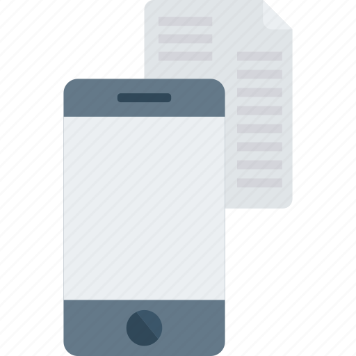 document, files, mobile, tablet icon