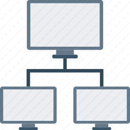 communication, connections, filesharing, network icon