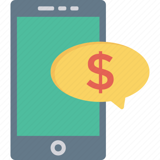 dollar, mobile, pay, payment icon