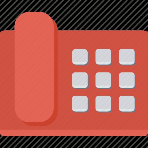 call, landline, phone, telephone icon
