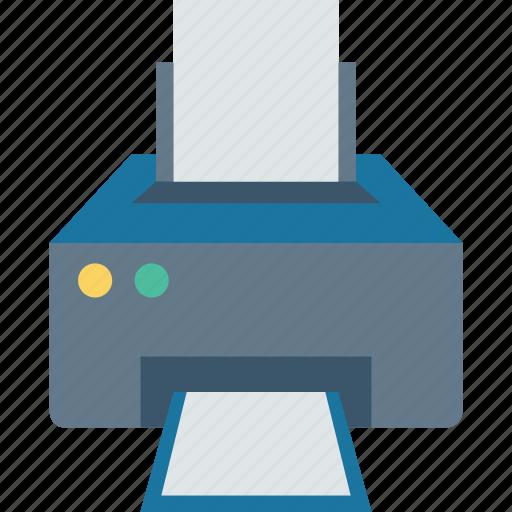 copy, device, print, printer icon