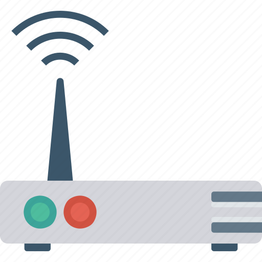 connection, modem, router, wireless icon