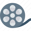 cinema, film, reel, video icon