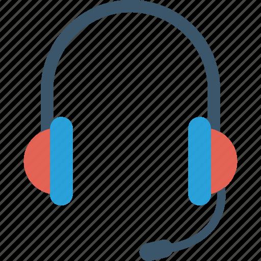 headphone, headset, listening, support icon