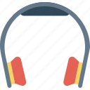 headphone, listening, music, support icon