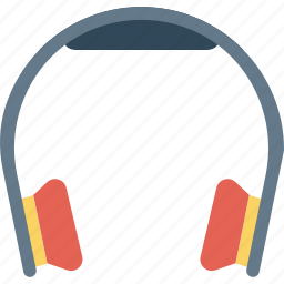 headphone, listening, music, support icon