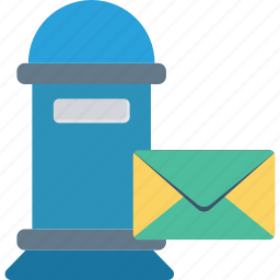 box, letter, office, post icon