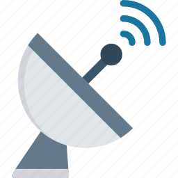 braodband, communication, dish, satellite icon