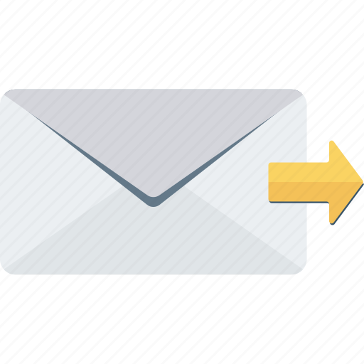 email, messege, send, sent icon