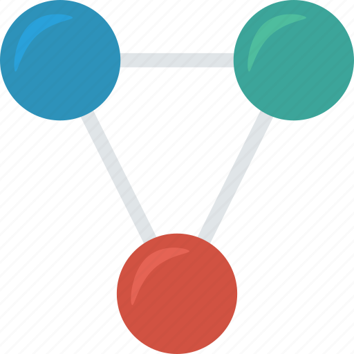 computing, connection, link, share icon