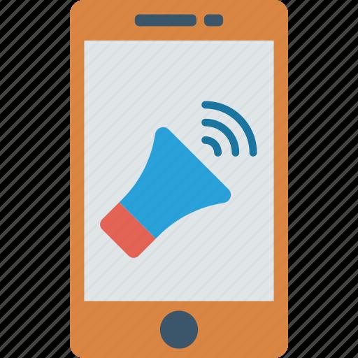 ads, advertising, marketing, speaker icon