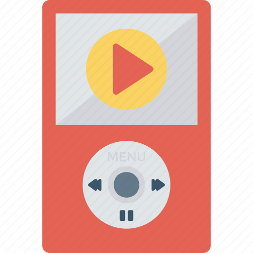 mediaplayer, music, play, video icon