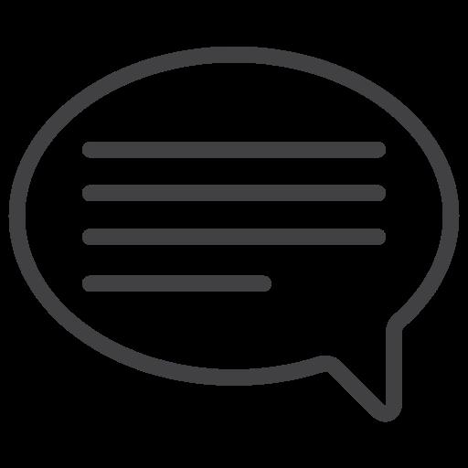 baloom, communication, talk icon