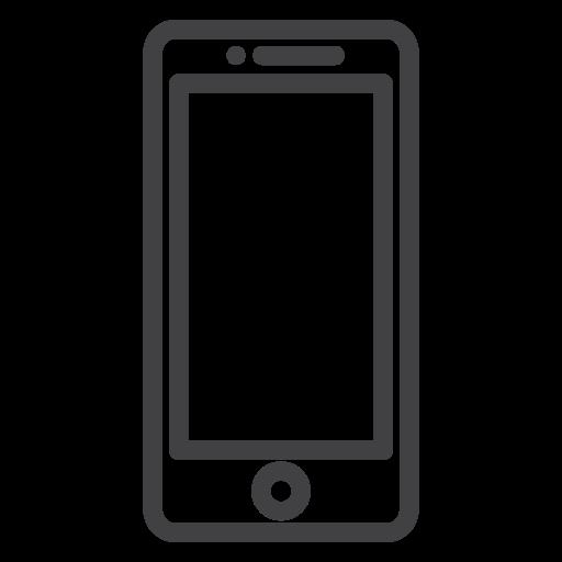 cellphone, communication icon