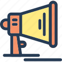 loudspeaker, marketing, sound, speaker icon