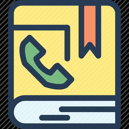address, book, communication, contact icon