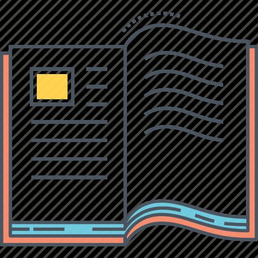 book, open, open book icon