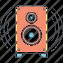 boom, loudspeaker, speaker icon