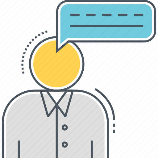 chat, discuss, opinion, talk, thoughts icon