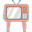 television, tv, tv stand icon
