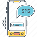 message, messaging, sms, text, text message icon
