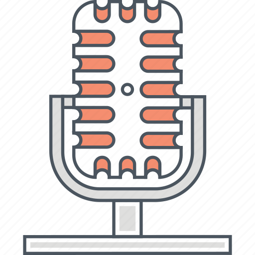 mic, microphone, recorder, speaker, voice, voice recording icon
