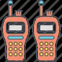talkie, walkie, walkie talkie icon