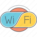 internet connection, wifi, wireless connection, wireless internet icon