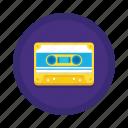 casette, communication, message icon