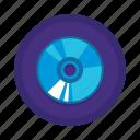 cd, communication, interaction icon