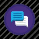 chatting, communication, interaction icon