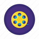 communication, film, reel icon