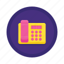 communication, landline, telephone icon