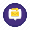 communication, interaction, messaging icon