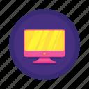 communication, interaction, monitor icon