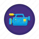 media, recorder, video icon