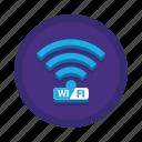 communication, interaction, wifi icon