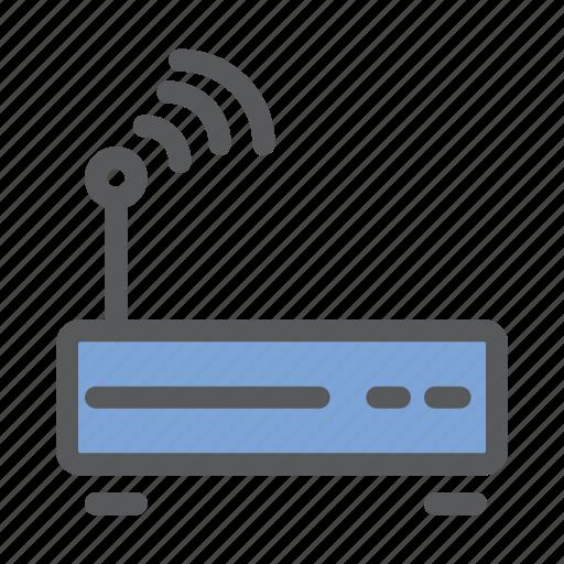communication, network, sharing, signal, wifi, work icon
