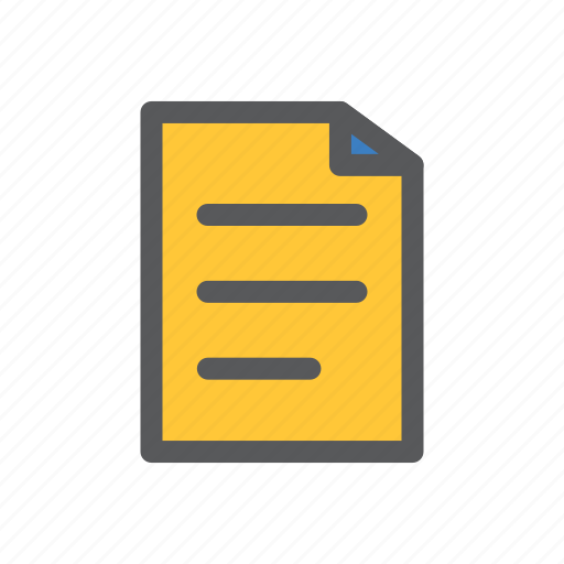 communication, document, fie, list, network, sharing, work icon