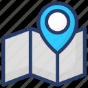 gps map, gps navigation, gps tracker, location map, map, navigational map icon