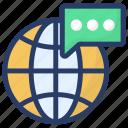 global call, global conversation, international call, international communication, worldwide communication icon