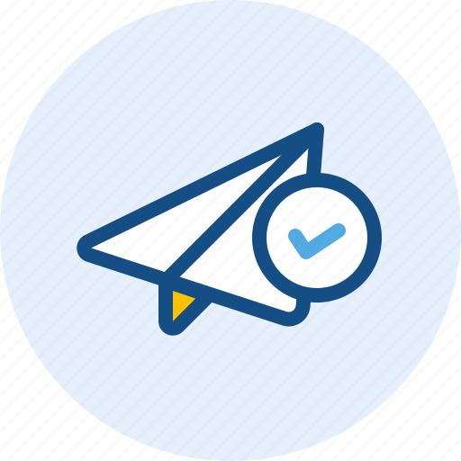 communication, mail, message, sent icon