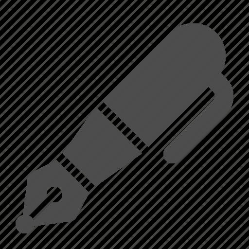 fountain pen, ink, pen, writing icon