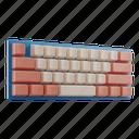 keyboard, computer, device, technology, key, hardware, typing