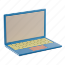 laptop, computer, business, work, office, device, mobile