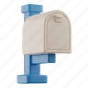 mailbox, mail, letter, post, inbox, letterbox