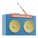 radio, music, audio, device, sound, mobile, technology
