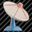 satellite, dish, antenna, radar, communication, parabolic